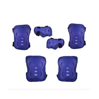 Conjunto de Proteção - Skateboard e Rollers - Azul - 3 Peças - Bel Fix - M