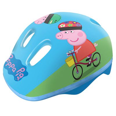 Capacete Infantil - Peppa Pig - Azul - DTC