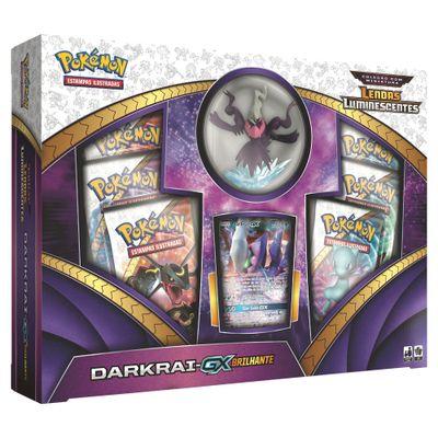 Jogo Pokémon - Box Darkrai GX Brilhante - Copag
