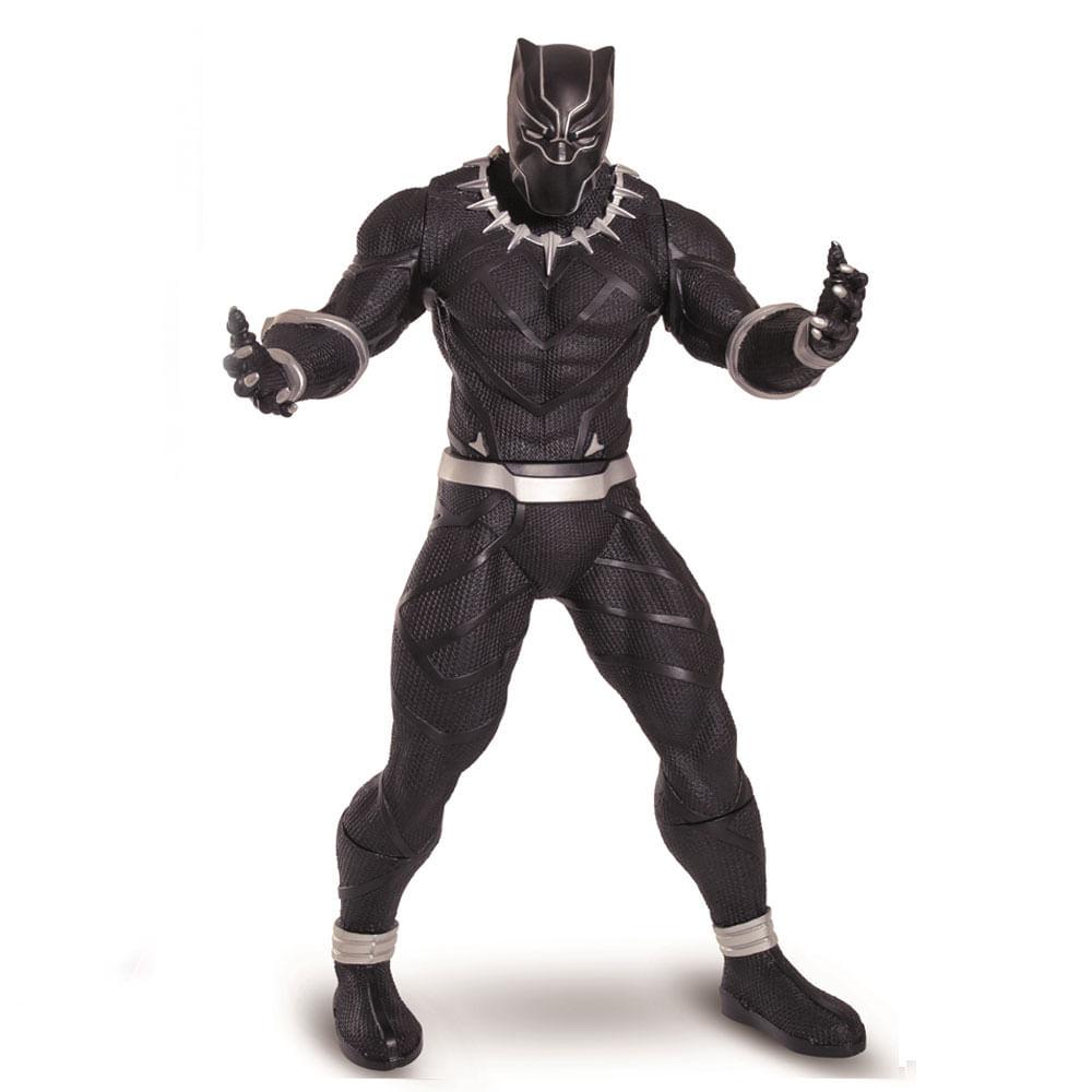 Boneco Articulado - 50 Cm - Revolution - Disney - Marvel - Pantera Negra - Mimo