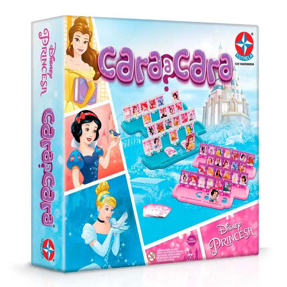 Jogo Cara a Cara Disney Princesas - 2019 - Estrela