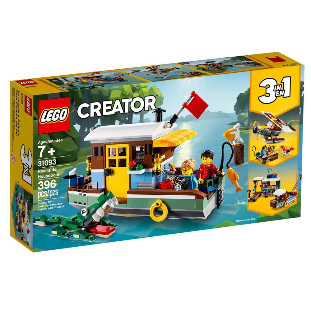LEGO Creator - 3 em 1 - Casa Flutuante Riverside - 31093