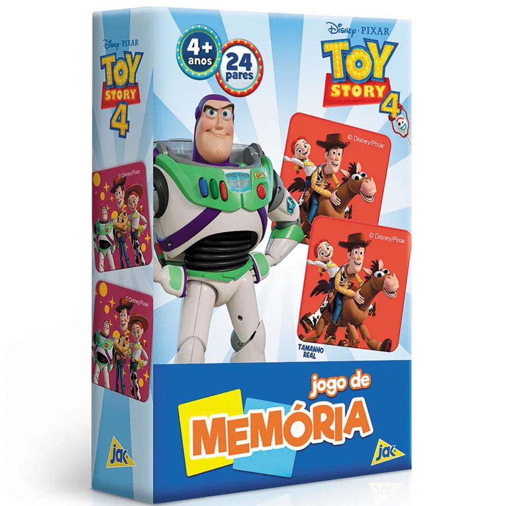 Jogo da Memória - 24 Pares - Toy Story 4 - Disney - Toyster