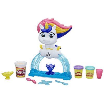 Conjunto com Figura e Massa de Modelar - Play-Doh - Tootie Unicórnio - Fábrica de Sorvetes - Hasbro