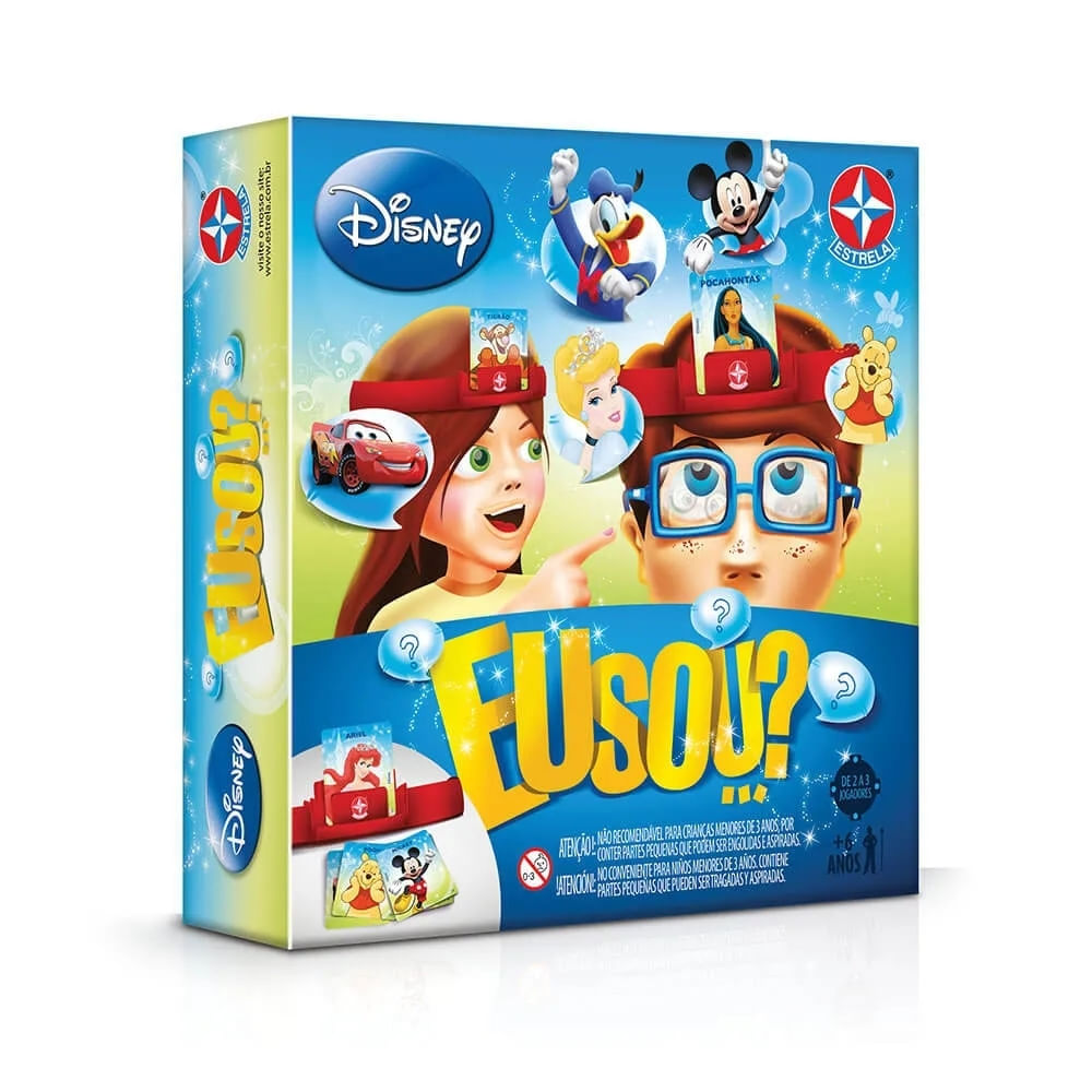 Jogo - Eu Sou - Disney - 2019 - Estrela