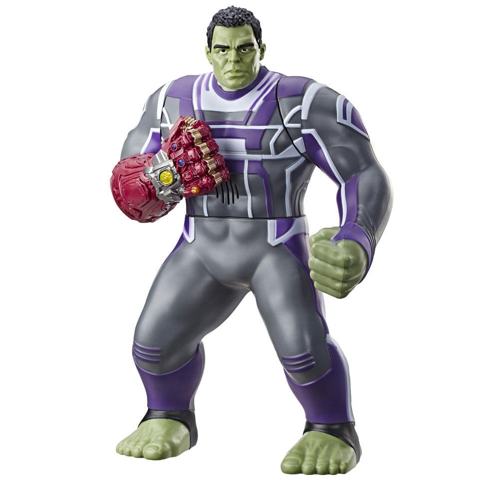 Figura de Ação 35 Cm - Marvel - Avengers - Hulk Deluxe 2.0 - Hasbro