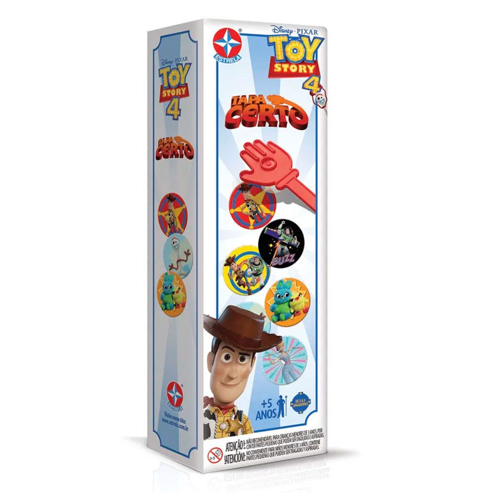 Jogo Tapa Certo - Disney - Toy Story 4 - Estrela