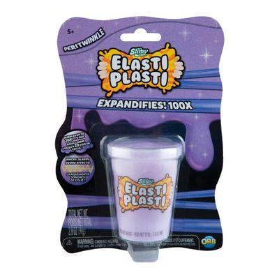 Slime - Elast Plasti - 90 Gr - Pote Roxo - Sunny