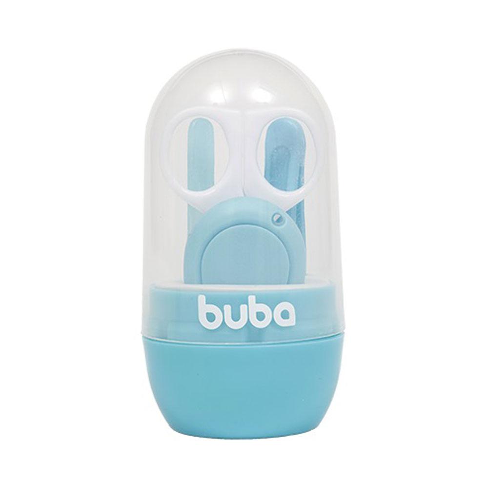 Conjunto de Higiene - Baby com Estojo - 4 Peças - Azul - Buba