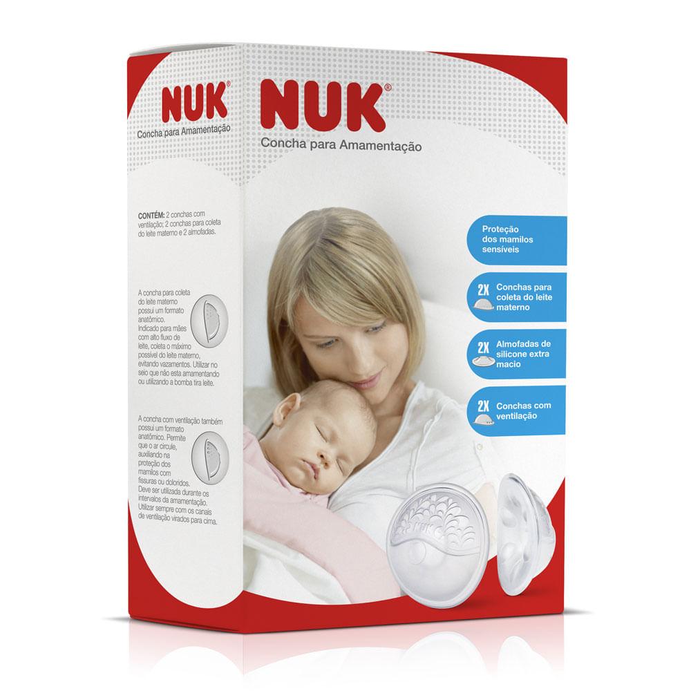 Conchas para Amamentação - 2 Unidades - Transparente - NUK