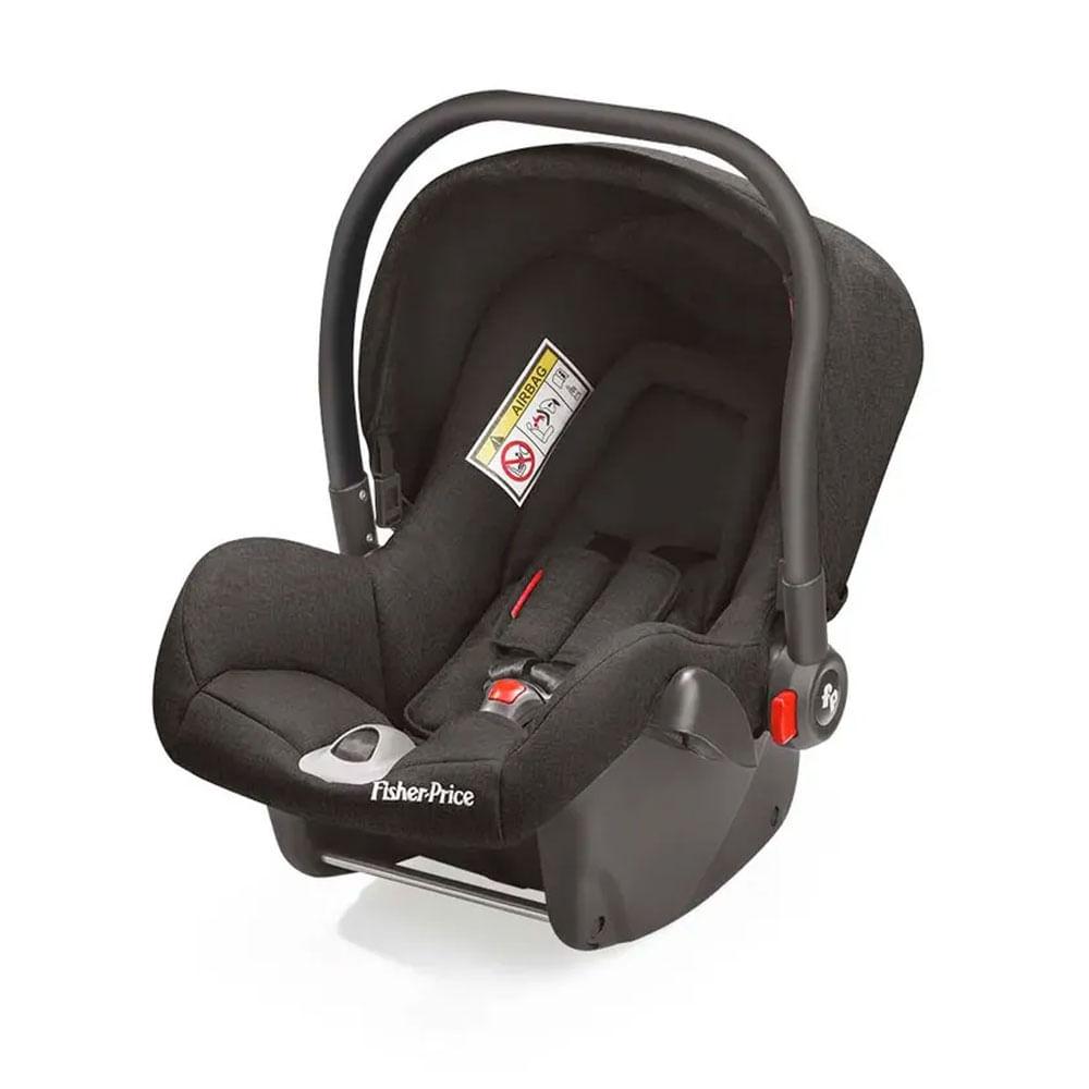 Bebê Conforto - De 0 a 13 Kg - Heritage Fix - Preto - Fisher-Price