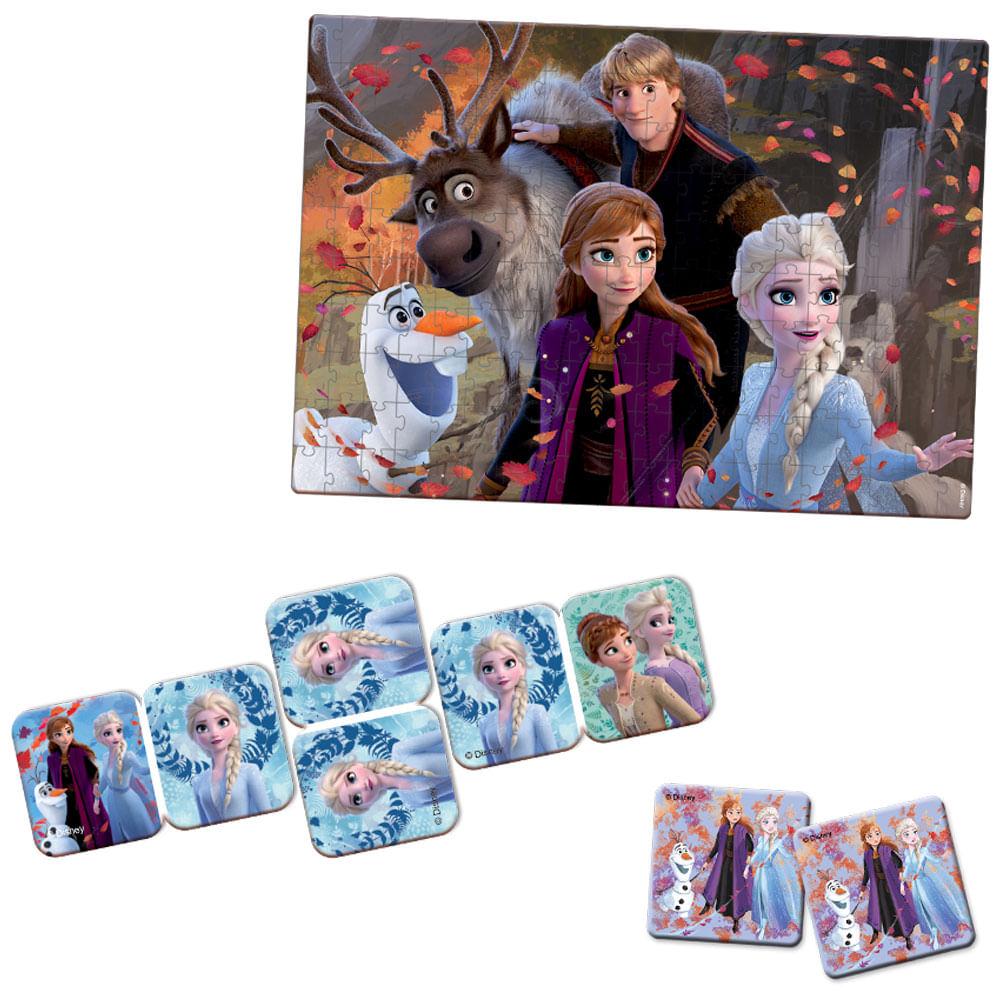 Conjunto de Jogos - Disney - Frozen 2 - Toyster