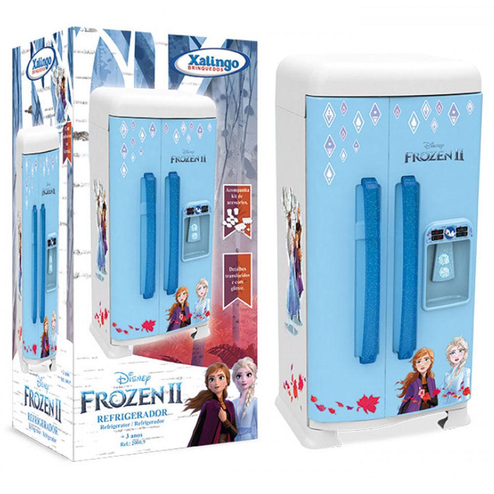 Acessórios de Casinha - Refrigerador - 58 Cm - Disney - Frozen 2 - Xalingo