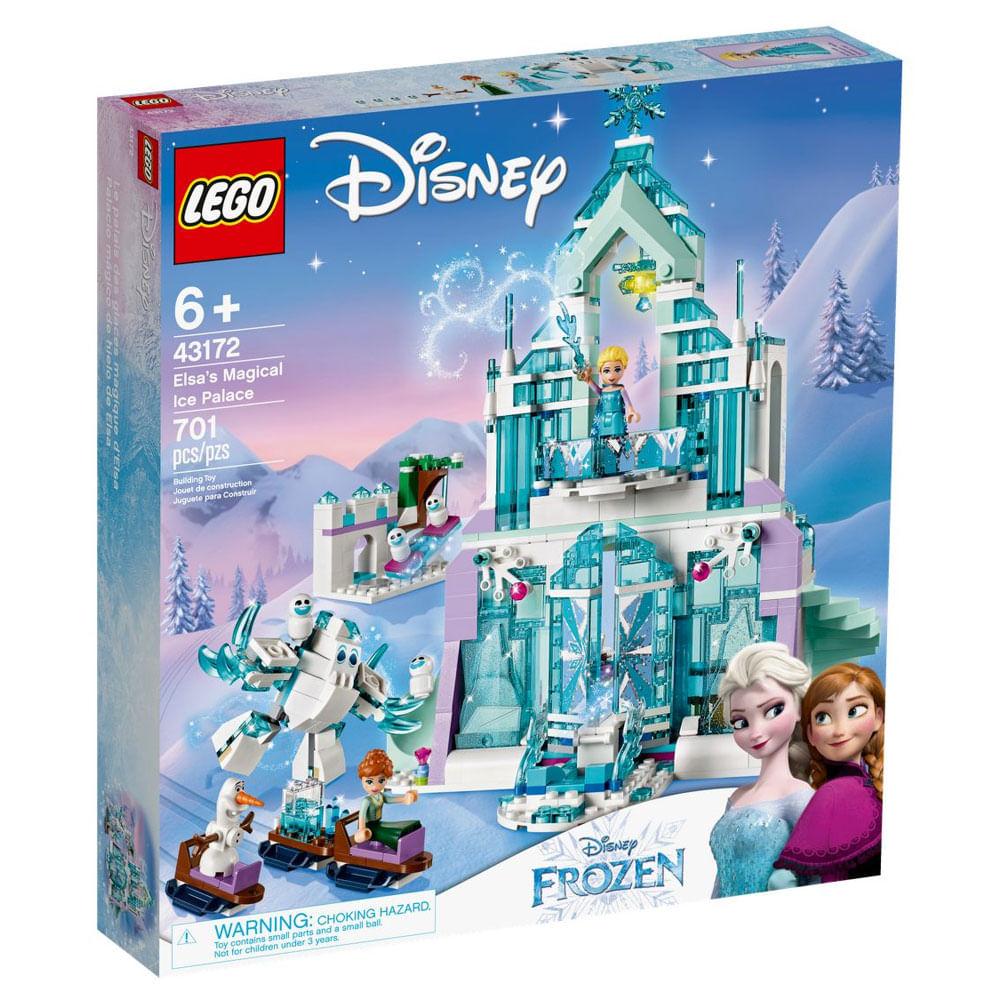 LEGO Disney - Disney - Frozen 2 - Palácio de Gelo Mágico - 43172