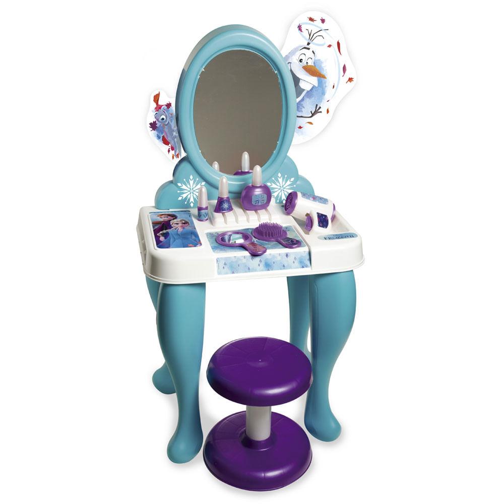 Penteadeira Infantil - Disney - Frozen 2 - Azul - Novabrink