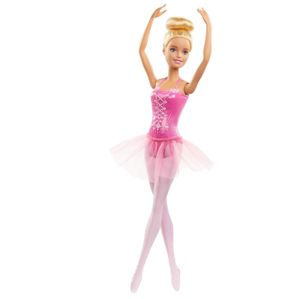Boneca Barbie - Barbie Bailarina Clássica - Rosa - Mattel
