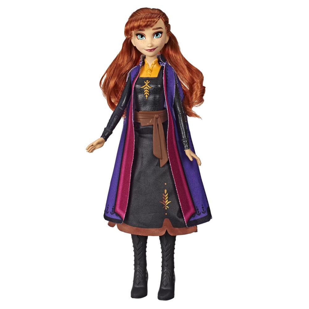 Boneca Articulada - Disney - Frozen 2 - Vestidos Iluminados - Anna - Hasbro