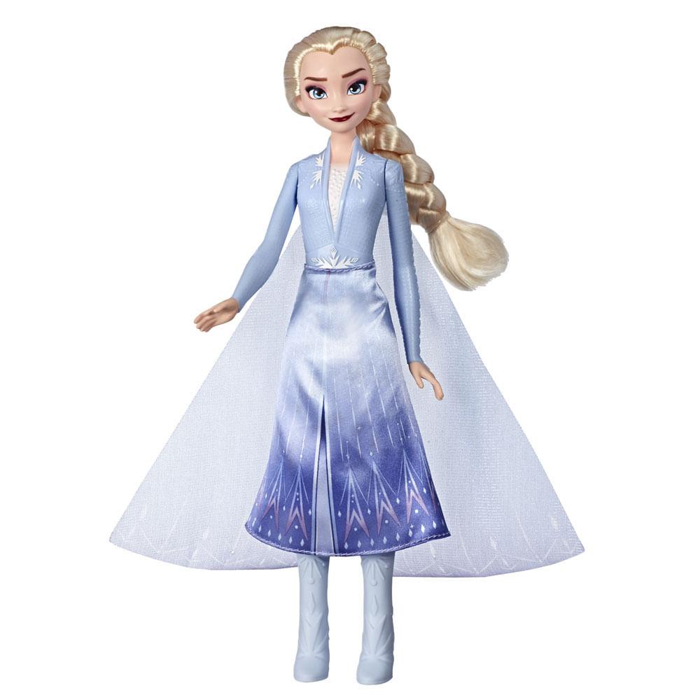 Boneca Articulada - Disney - Frozen 2 - Vestidos Iluminados - Elsa - Hasbro