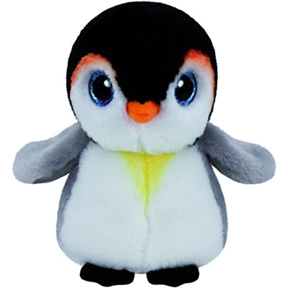 Pelúcia Beanie Babies Médio - Pinguim Pongo