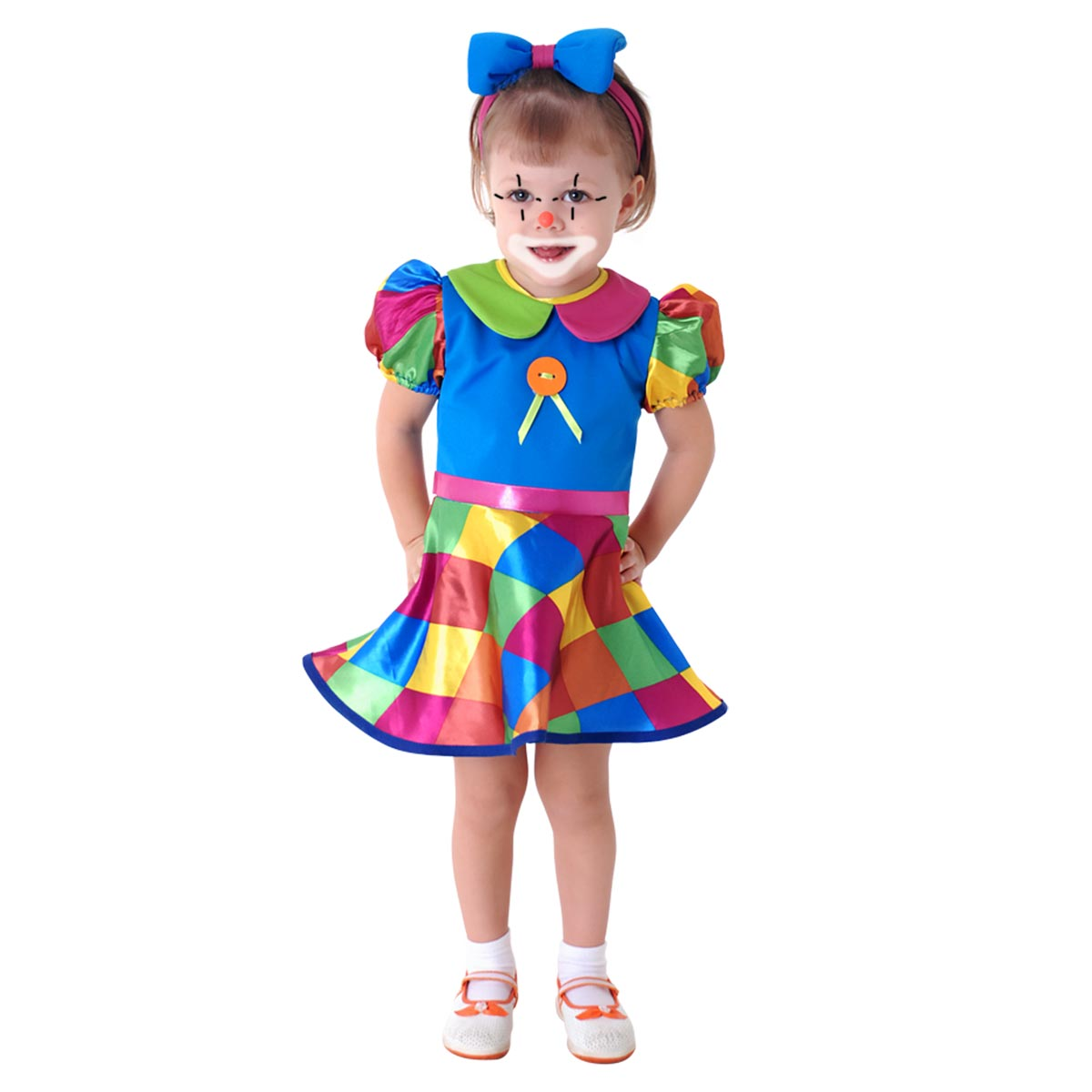 Fantasia Palhacinha de Circo Bebê - Carnaval