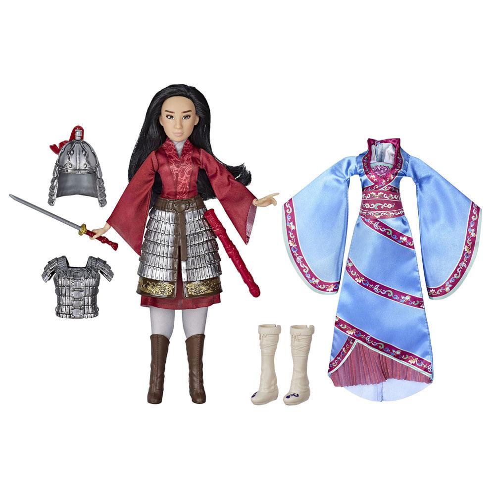 Boneco Articulado com Acessórios - Disney - Mulan - Duplo Reflexo - Hasbro