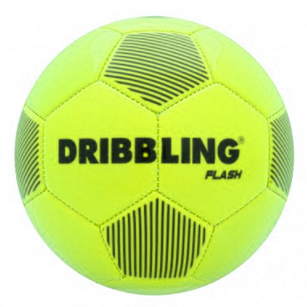 Bola de Futebol - Nº 5 - Dribbling Flash - Neon - Sportcom