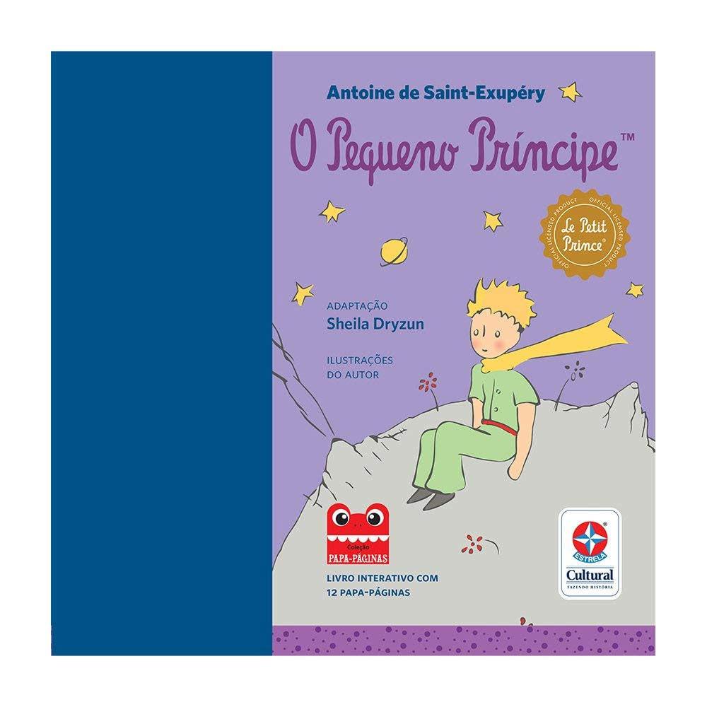 Livro Infantil - O Pequeno Príncipe - Estrela Cultural
