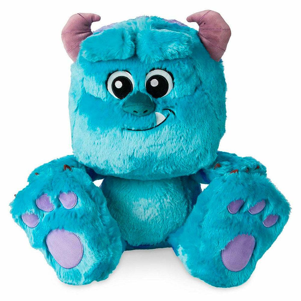 Pelúcia Disney - 28 Cm - Monstros SA - Sulley - Big Feet - Fun