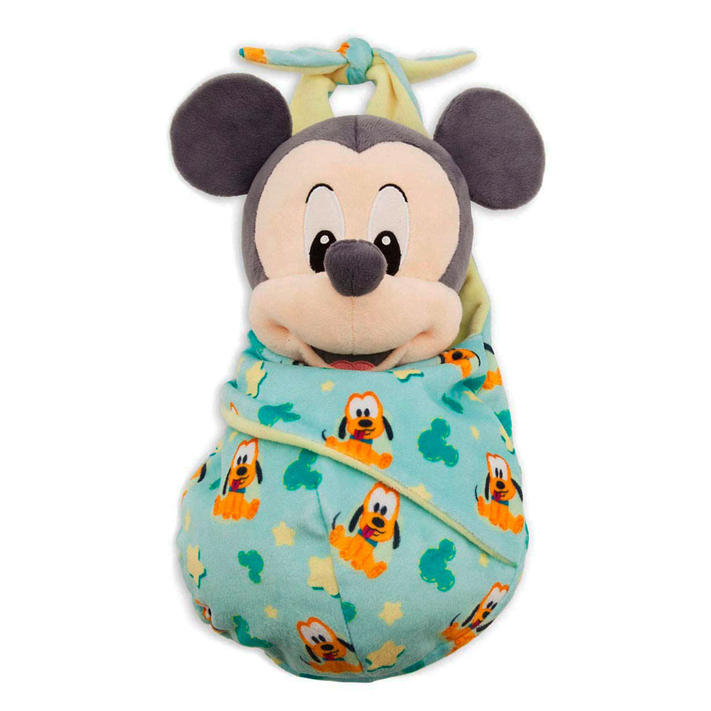 Pelúcia Disney - 27 Cm - Mickey Mouse - Baby - Fun