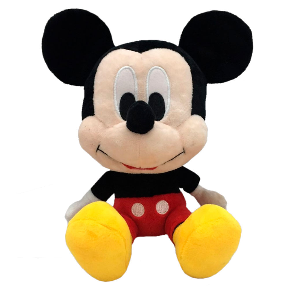 Pelúcia Disney - 28 Cm - Mickey Mouse - Big Head - Fun
