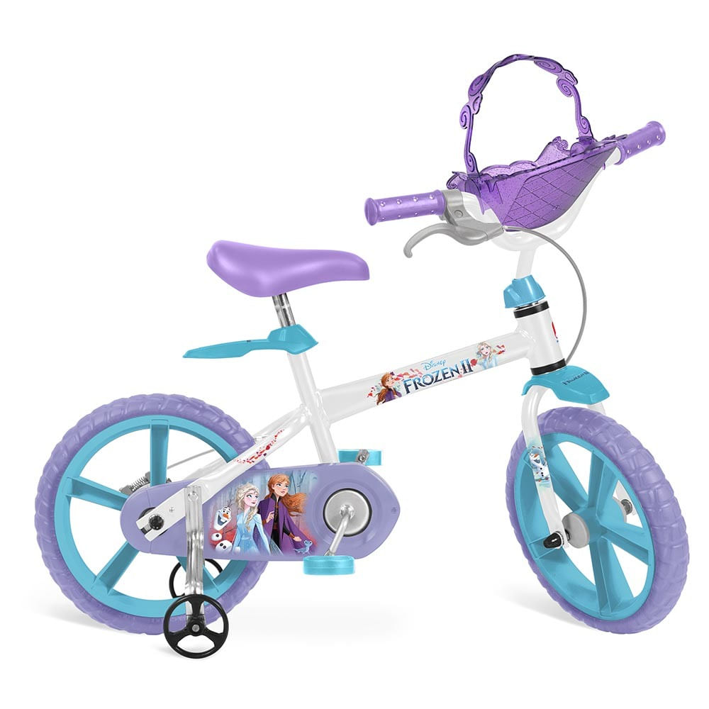 Bicicleta ARO 14 - Disney - Frozen 2 - Bandeirante