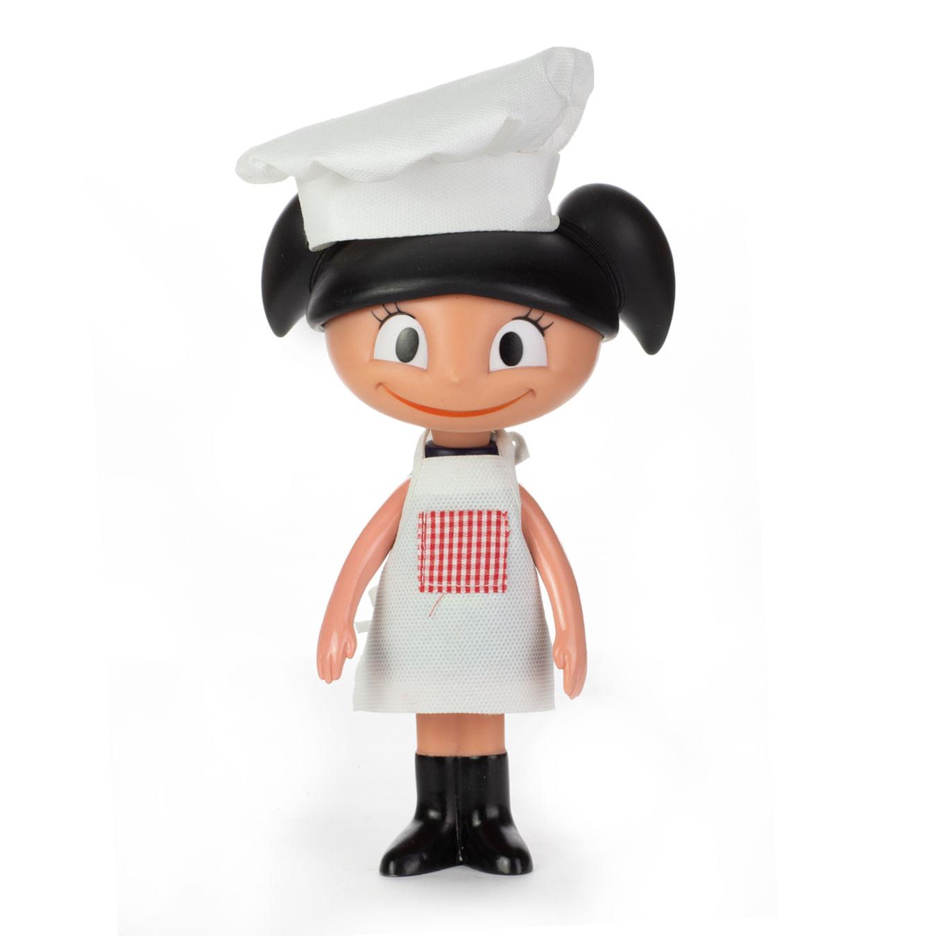 Boneca De Vinil - 20Cm - O Show da Luna - Luna Chef - Estrela