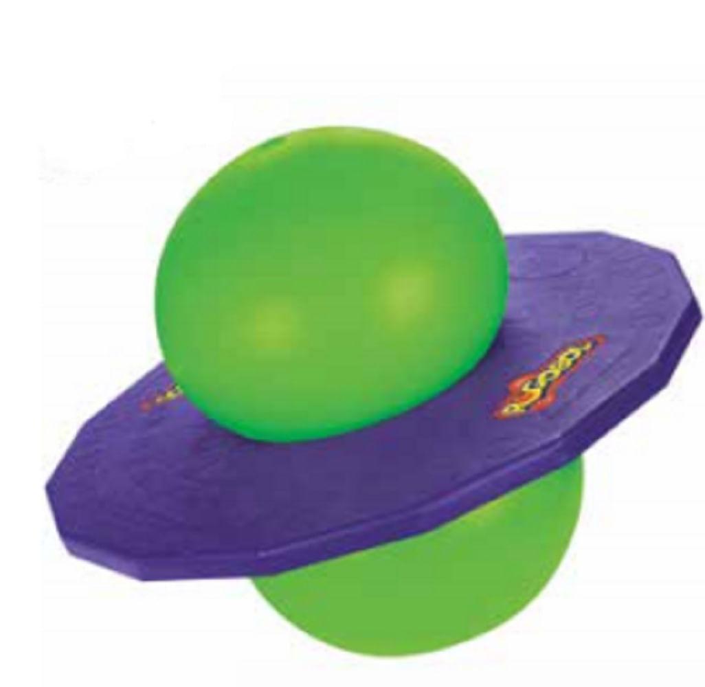 Brinquedo Clássico - Pogobol - Roxo e Verde - Estrela