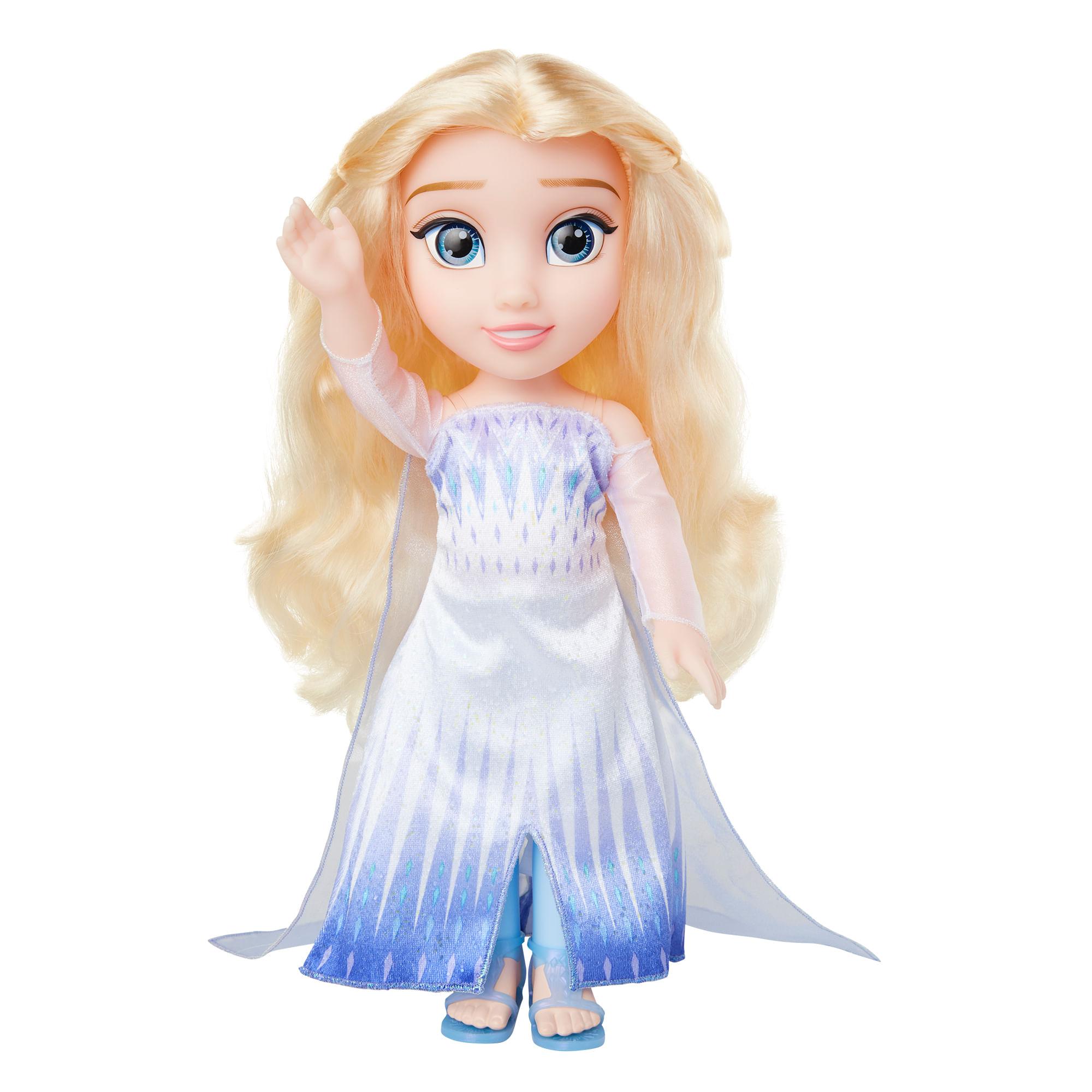Boneca Articulada - 30Cm - Disney - Frozen 2 - Elsa Rainha da Neve - Mimo
