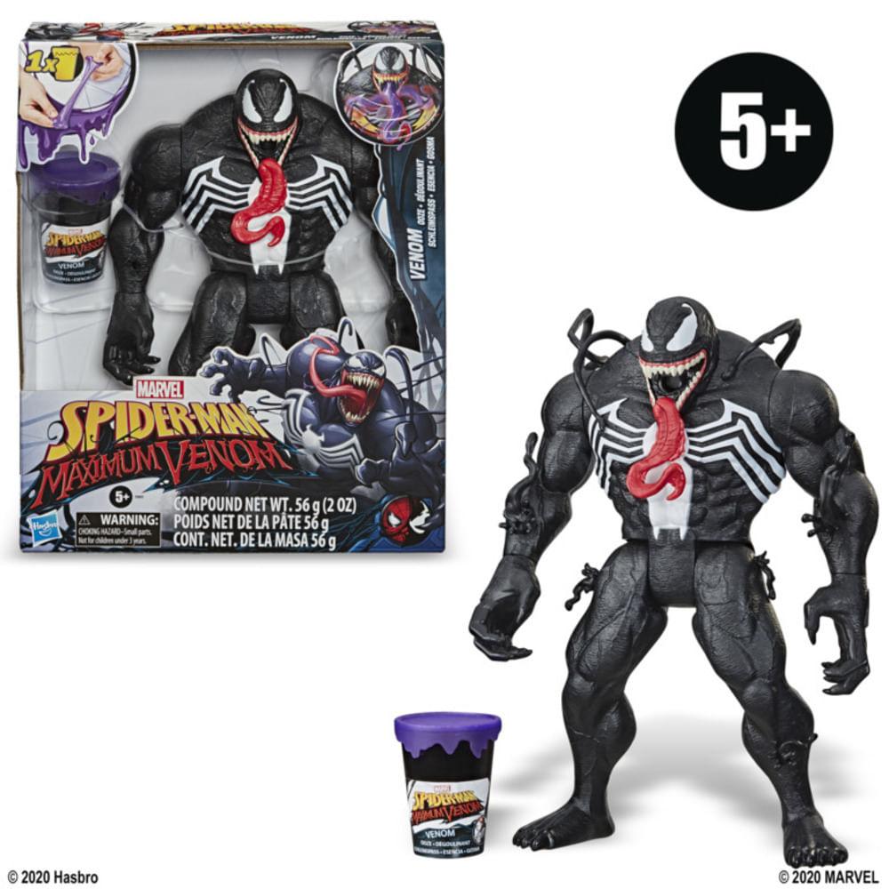 Boneco Articulado - Spider Man Maximum Venom - Venom Ooze - Marvel - Hasbro