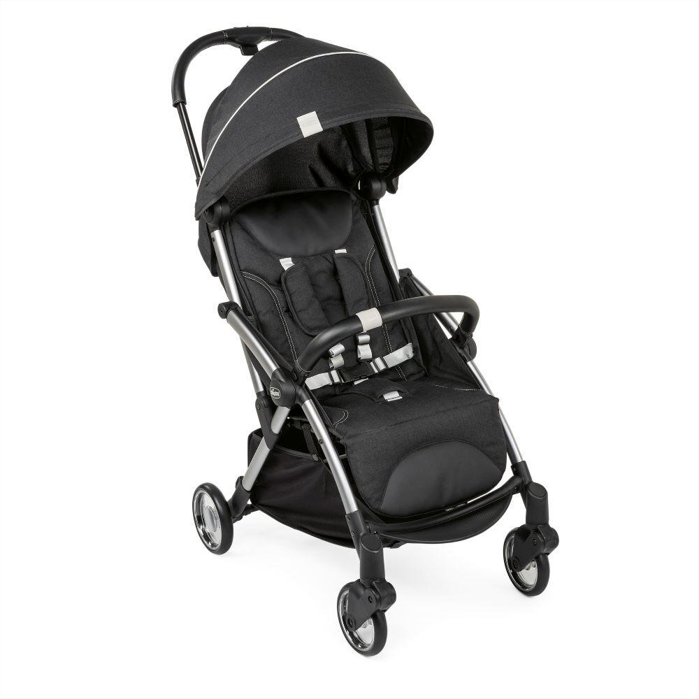 Carrinho de Bebê - Passeio – Chicco – Goody - De 0 a 15 Kg – Graphite