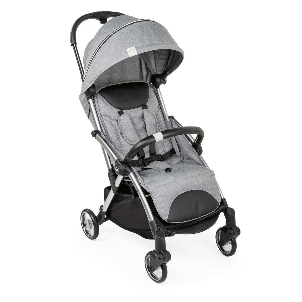 Carrinho de Bebê - Passeio – Chicco – Goody - De 0 a 15 Kg – Cool Grey