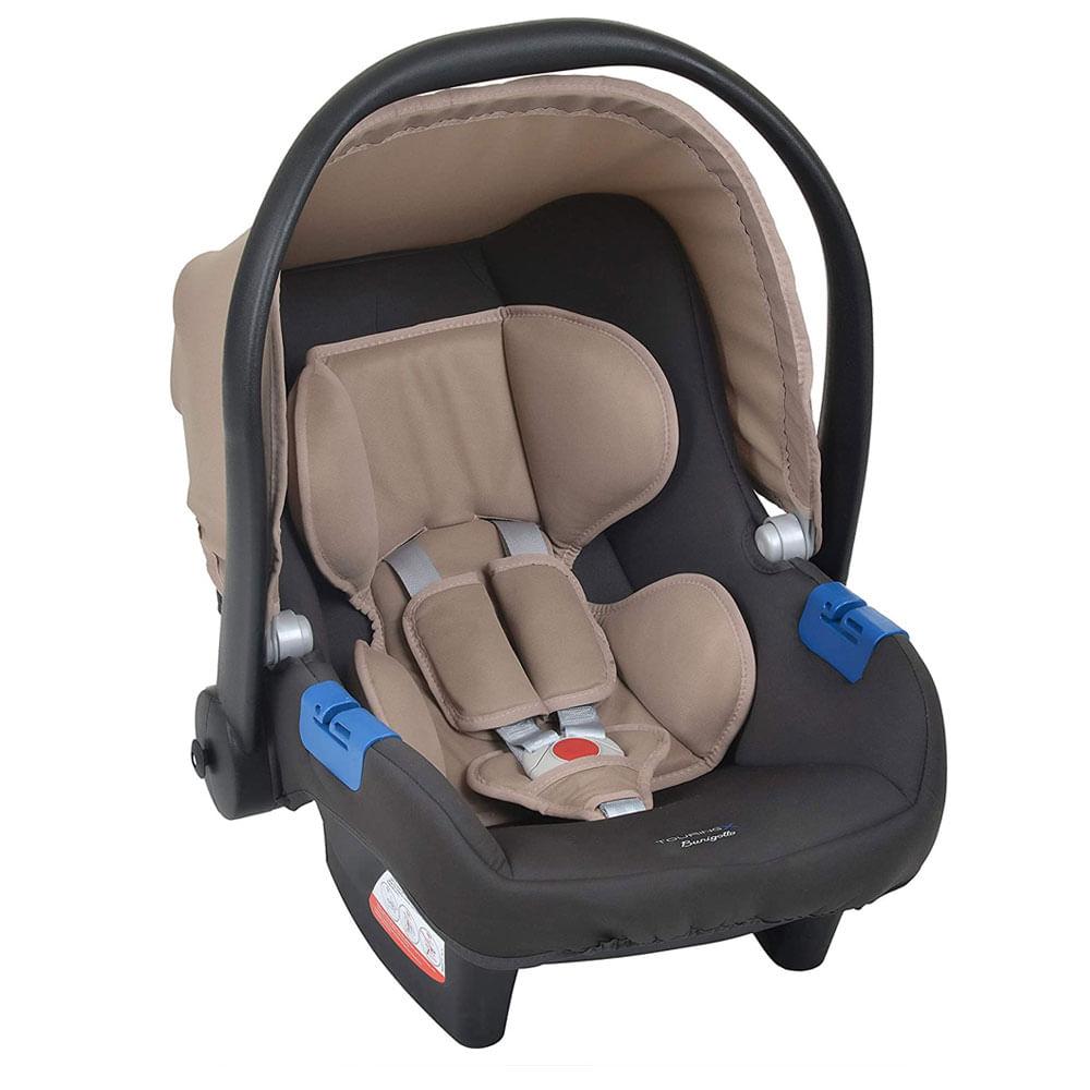 Bebê Conforto - Burigotto - Touring X - De 0 a 13 Kg - Cinza e Bege