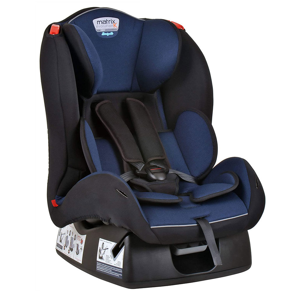 Cadeira Para Auto - De 0 a 25 Kg - Matrix Evolution K - Mescla Azul - Burigotto