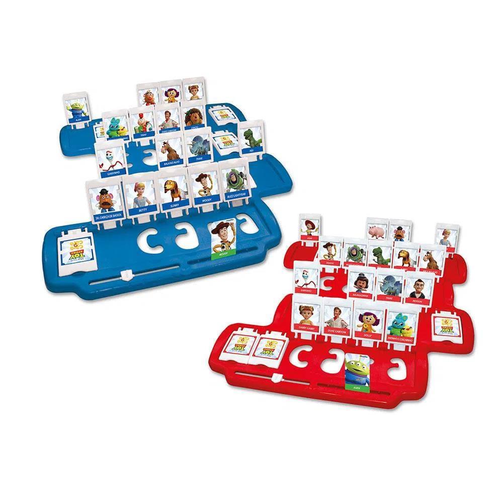 Jogo - Cara a Cara - Toy Story 4 - Estrela