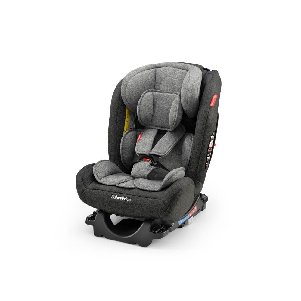 Cadeira para Auto - De 0 a 36 Kg - All Stages Fix 2.0 - Cinza e Preto - Fisher-Price