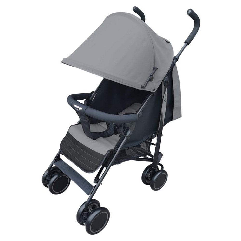 Carrinho de Bebê Voyage Park Cinza IMP01659