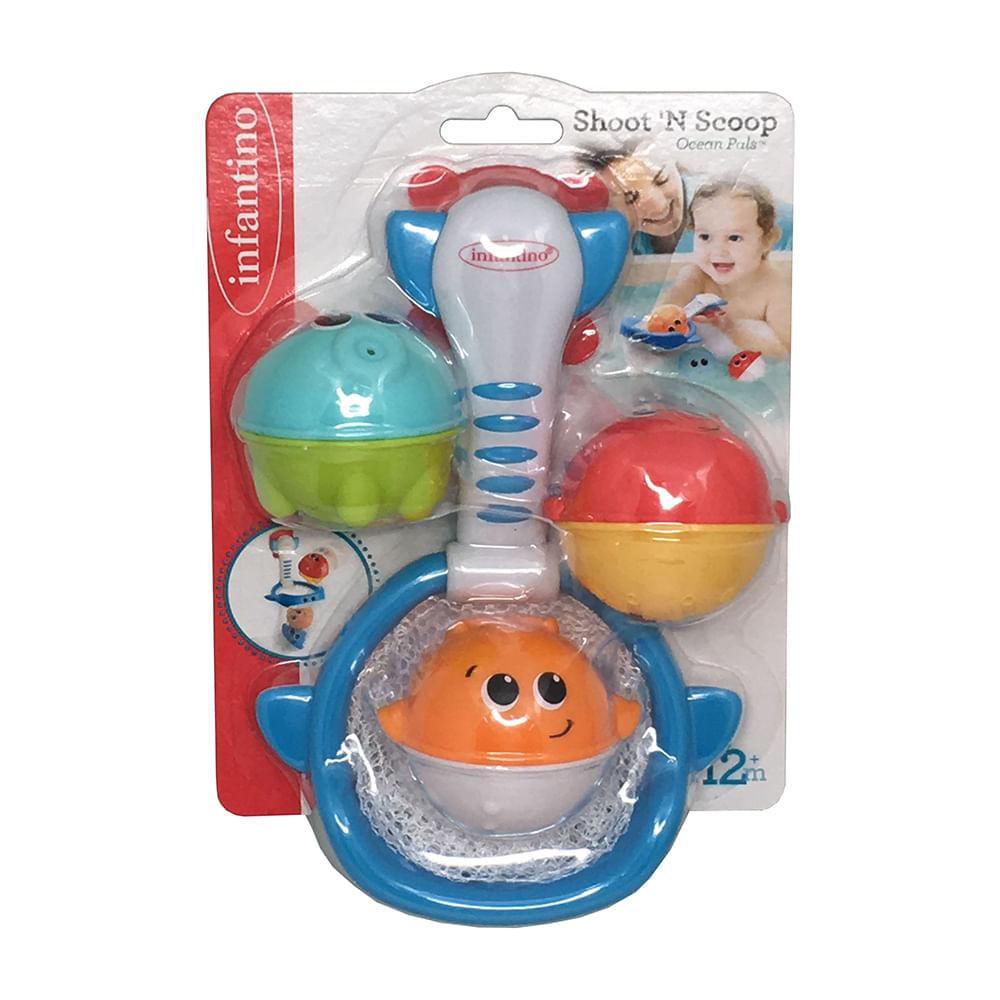 Brinquedo de Banho Pescaria Infantino Oceano Estrela
