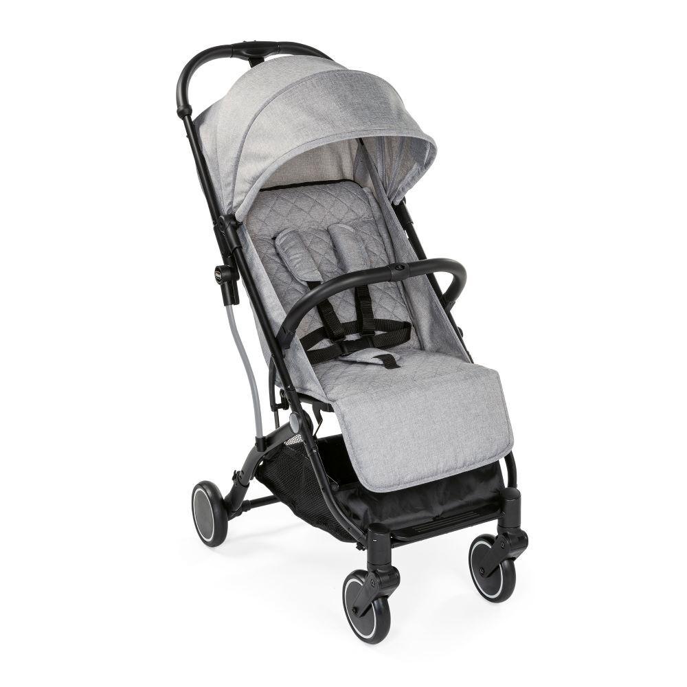 Carrinho de Bebê - Passeio - Chicco - Trolley Me - De 0 a 15 Kg - Light Stone