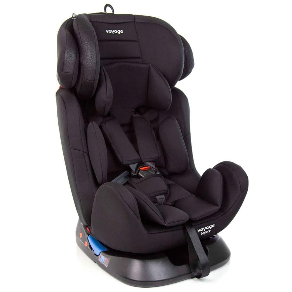 Cadeira para Auto - De 0 a 36 Kg - Legacy - Preta - Voyage