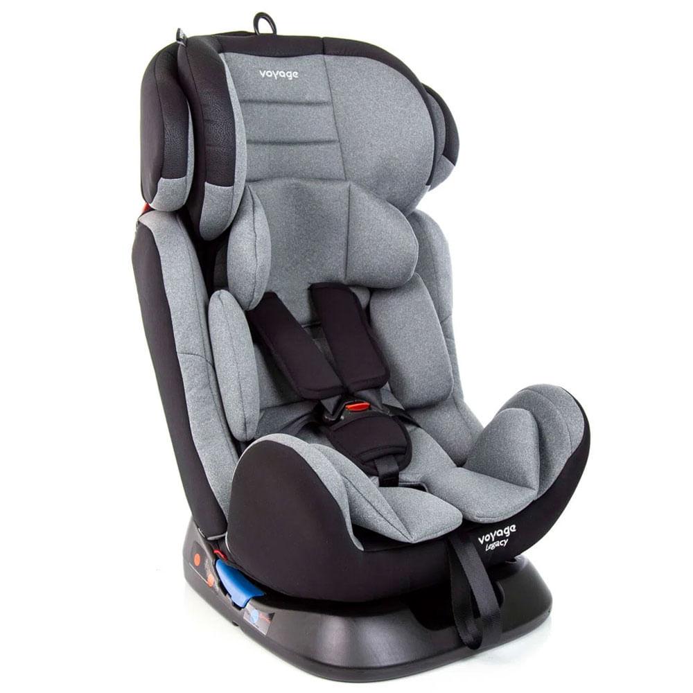 Cadeira para Auto - De 0 a 36 Kg - Legacy - Cinza Mescla - Voyage