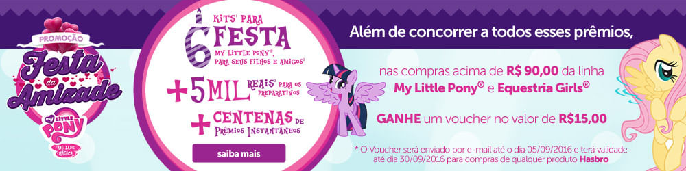 Festa da Amizade - My Little Pony