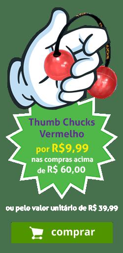 Thumb Chucks Vermelho