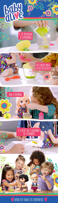 a6daa6a0c5 Boneca - Baby Alive - Papinha Divertida - Loira - Hasbro - Ri Happy ...