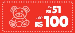 produtos e brinquedos ate 100 reais
